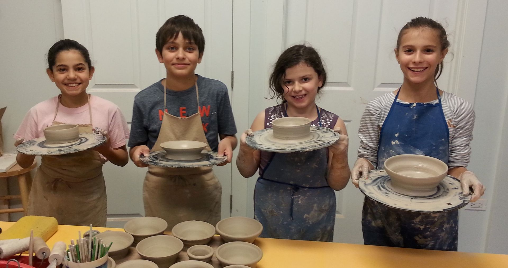 Rođendanske radionice keramike za decu